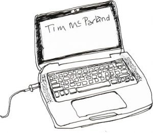Tim McParland | Laptop Logo